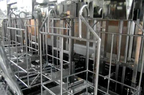 工业全自动超声波清洗机工作视频